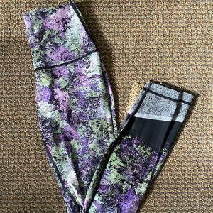 Lululemon fast and free legging vivid purple